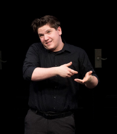 Josh Sinclair competes at Shakespeare competition