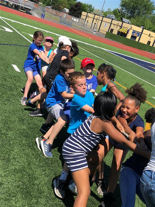 Franklin Elementary Field Day