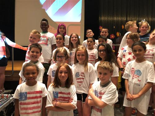 Franklin Elementary Flag Day