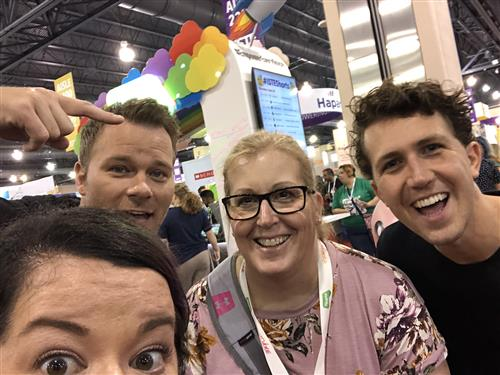 Kerry Smith and Flipgrid representatives