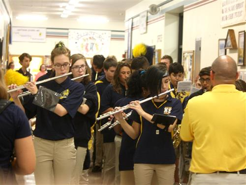 Kenmore East Marching Band