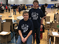 Kenmore East Students Compete in Tech Wars Competitions; 2 Place 2nd in Cardboard Chair Event