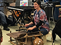 Kenmore East Music Students Enjoy Workshops on African Music, Harmonica & Blues