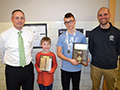 Hoover Middle Champions Geography Bee Winner