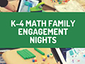 Gr. K-4 Math Family Engagement Nights (IXL & Zearn)