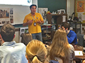 Kenmore West Alumnus Returns to Alma Mater for Presentation on Peace Corps