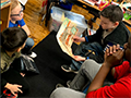 FMS 7th Graders Share Love of Reading with K-4 Students