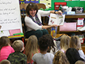 Lindbergh Elementary Welcomes Special Guest Readers to Classes on January 31