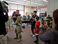 Happy Homecoming in Ken-Ton Schools for Soldier's Family