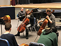 Kenmore East Orchestra Students Participate in Masterclass with Eastman Graduate Student