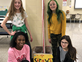 Hoover Middle Students Create New Recycling Club