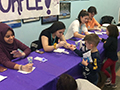 KW Challenge/Interact Club Brings 'Purple Pinkie' Project to KT