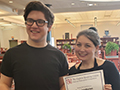 Ken-West Students Place 1st, 2nd at WNY Shakespeare Competition