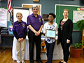 Kenmore East Student Wins Local, Regional & Statewide Peace Essay Contest