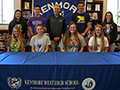 Kenmore West High School Honors 10 College-Bound Athletes at Signing Ceremony