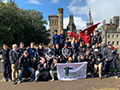 Rugby Team Explores History, Culture & Rugby in Wales