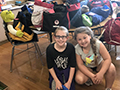 Edison Elementary Donates 25 'Comfort Cases' for Children in Foster Care