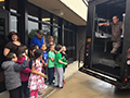 Holmes Elementary Students Enjoy a Special Afternoon Courtesy of UPS