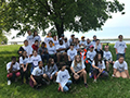 Franklin Middle Students Help Clean Up Beaver Island