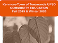 Community Education Fall/Winter Catalog