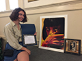 Kenmore West Graduate Wins 1st Place, Scholarship at Allentown Art Festival