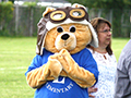 Lindbergh Elementary Introduces New Mascot at Beginning-of-Year Pep Rally