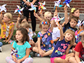 'Pinwheels for Peace,' Student Rally & Summer Reading Celebration