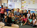 Favorite Student Author From American Reading Visits Lindbergh Class