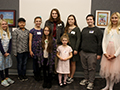 Students, Art Teachers & Board of Education Recognized at Special Student Artist Reception