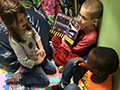 Classes at Franklin Elementary Team Up for 'Buddy Reading'