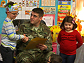 For Veterans Day, Current & Retired Members of the Armed Services Visit Hoover Elementary & Lindbergh