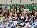 Hoover Middle Collects 2,500 Pairs of Socks for KT Closet