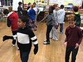 Franklin Elementary Students Participate in Shea's 'Thinking Outside the Box' Workshop