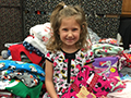 Edison Students Collect Nearly 200 Pajamas for Families in Need