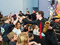 KW Jazz Ensemble Visits Holmes for Special Holiday Concert