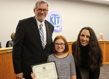 Taylor Paluch, Hoover Elementary School Student