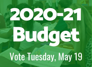 2020-21 Budget Information: Vote May 19, 2020