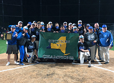Kenmore West Baseball Wins Section VI Class A Championship