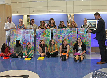 K-12 Art Collaboration for Oishei Children's Hospital
