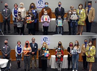 Ken-Ton Recognizes Student Artists, Art Teachers & BOE