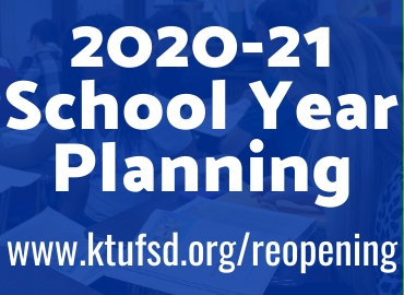 Reopening Planning for the 2020-21 School Year
