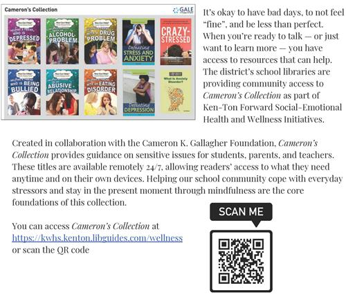Cameron's Collection Flyer