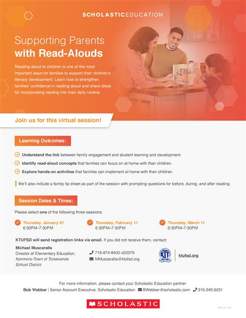 Read Aloud Flyer