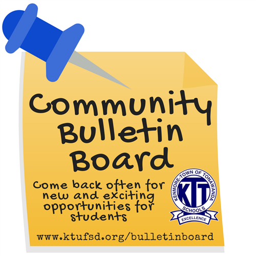 Community Bulletin Board Graphic