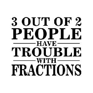 fraction trouble