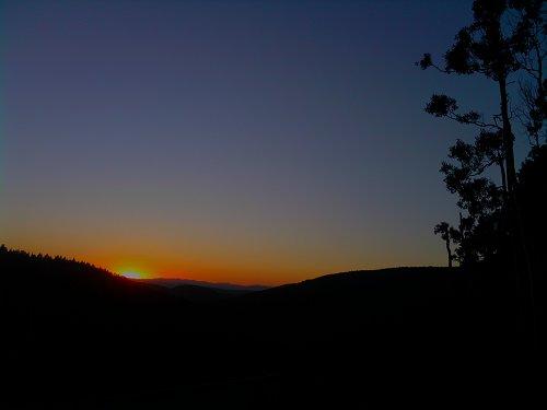 Last light - Utah 2010