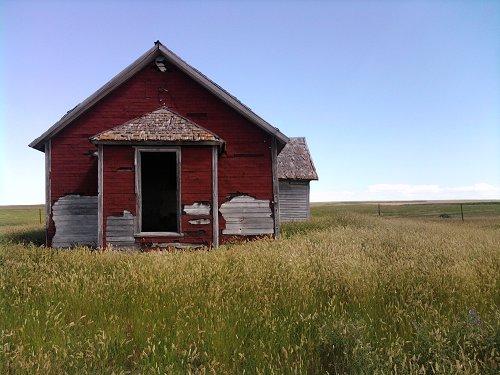 Abandoned ranch SD