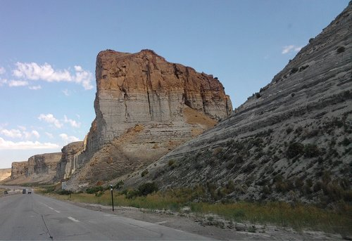 Wyoming weathered rock